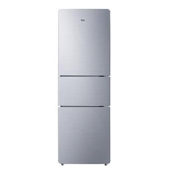 TCL 205升三门冰箱