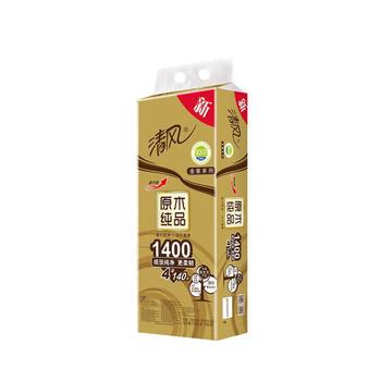 清风原木卫生纸10卷